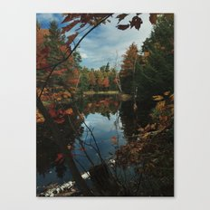 New York Fall Canvas Print