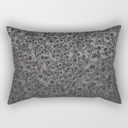 Skulls...so many Rectangular Pillow