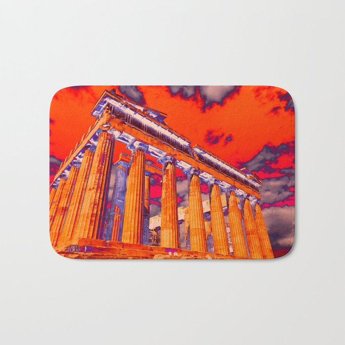 Parthenon (solarized) Bath Mat