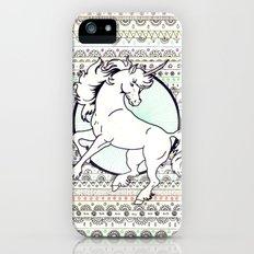 Unicorn Party Slim Case iPhone (5, 5s)