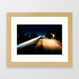 Lightspeed Framed Art Print
