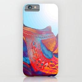 Landscape Bridge Abstract iPhone Case