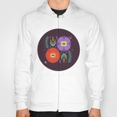 Flowerfully Folk Hoody