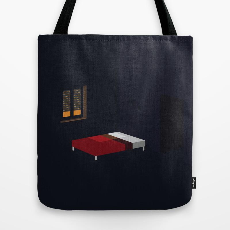 An Empty Room Travel Tote by Matteobenegiamo TBG8687425