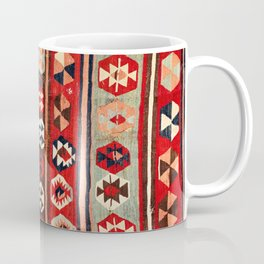 Mut  Antique Mersin Turkish Kilim Coffee Mug