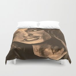 Normal Girl Duvet Cover