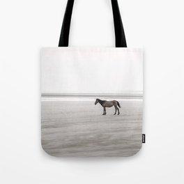 Horse a la playa Tote Bag