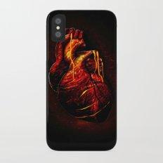 Lava Heart iPhone X Slim Case
