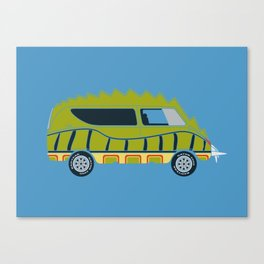 Death Race 2000 Alligator Van Canvas Print
