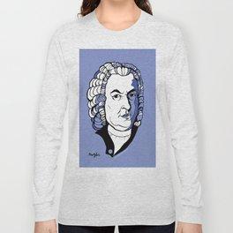 J.S. Bach baroque music  art print classical composer Arioso, Air on a G string,  Brandenburg Long Sleeve T-shirt