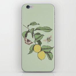 Lemons in Spring iPhone Skin