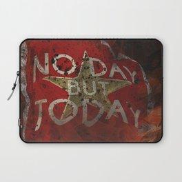 Post Apocalyptic Inspirational Quote 007 Laptop Sleeve