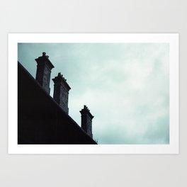 Redfern Chimneys Art Print