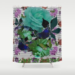 Love is Divine Collection Shower Curtain