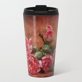 Carnation flowers Travel Mug
