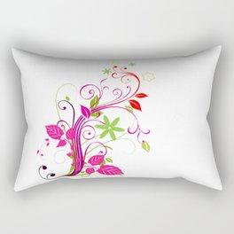 flower drawing Rectangular Pillow