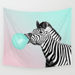 Zebralicious Wall Tapestry