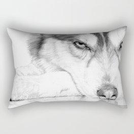 Siberian Husky  Rectangular Pillow