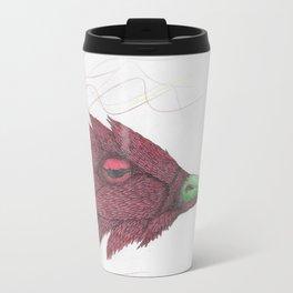 Bird of feathers Metal Travel Mug
