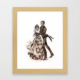 Midnight Waltz Framed Art Print