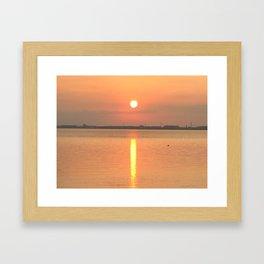 Sunrise in Kuyushu Framed Art Print
