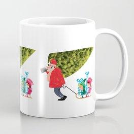 Buying the Christmas Tree Coffee Mug