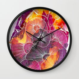 Fiery Expansion Wall Clock