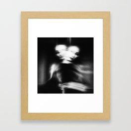 the disappearance Framed Art Print