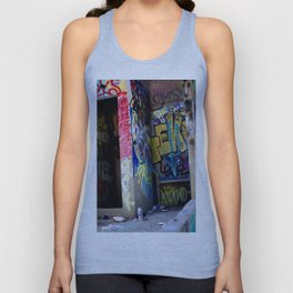 Abandoned. Unisex Tank Top
