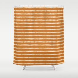 Daylight Stripes Shower Curtain