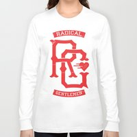 monogram Long Sleeve T-shirts featuring Monogram! by Radical Gentlemen