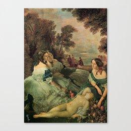 Sense and Sensibility, a.k.a. Little Sister Canvas Print