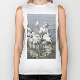 Les Oies Blanches : Kécéça ? - The White Geese : What's this? Biker Tank