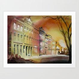Charleston 2 Art Print