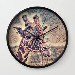 Impressive Animal - Giraffe Wall Clock