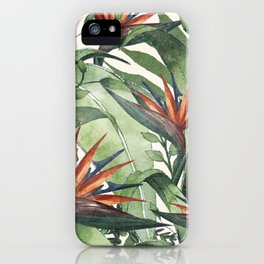 Tropical Flora I iPhone Case