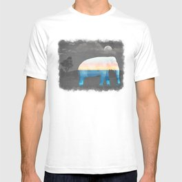 An Elephant Dreams of the Sea T-shirt