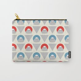 Mt Fuji Dots Carry-All Pouch