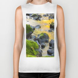 Grizzly Creek In The Fall Biker Tank