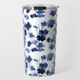 Floral Spindle Pattern Travel Mug