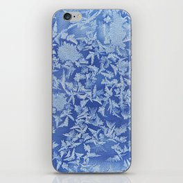 Blue Frozen Freeze iPhone Skin