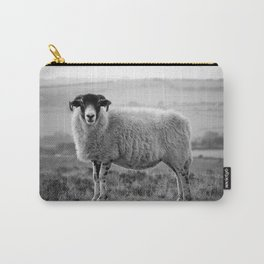 An Exmoor sheep. Carry-All Pouch