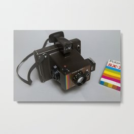 Polaroid Colour Swinger II Metal Print