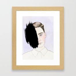 Hiding #1 Framed Art Print