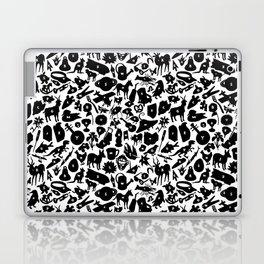 Alphabet Compendium Letter Silhouette Pattern Laptop & iPad Skin
