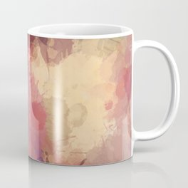 Modern Contemporary Ultra Violet Glow Abstract Coffee Mug
