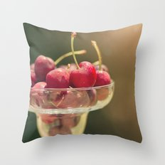 One of my favorite things about summer..... Throw Pillow