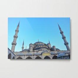 Blue Mosque   Istanbul, Turkey Metal Print