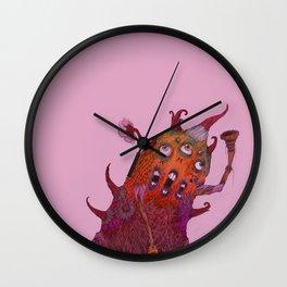 Aleluya monster Wall Clock