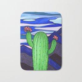 Cactus Sky Bath Mat